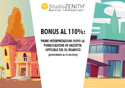 Bonus al 110%: prime interpretazioni dopo la pubblicazione in gazzetta ufficiale del DL Rilancio